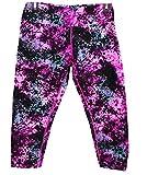 Calvin Klein Damen Print Leggings Tights Hose Fitnesshose Sporthose M