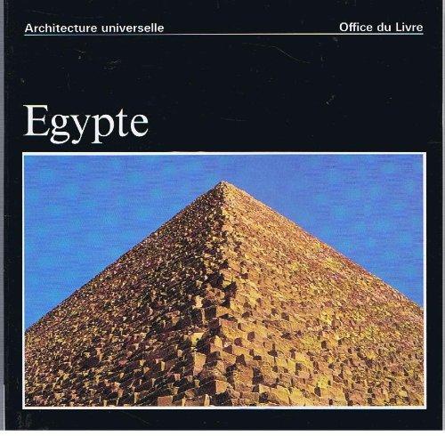 EGYPTE / Architecture universelle par Jean-Louis de Cenival (Broché)