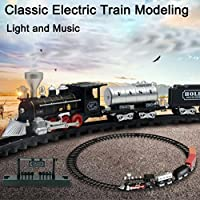 AmaMary Remote Control Train Set, Remote Control Music track train with electric lights RC Train Railway Set Model Toy Gift deluxe - Compare prices on radiocontrollers.eu