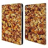 Head Case Designs Offizielle PLdesign Herbst Ahorn Blumen Und Blaetter Brieftasche Handyhülle aus Leder für iPad Air 2 (2014)