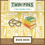 Book Buds Twin Pins: Two Enamel Pins
