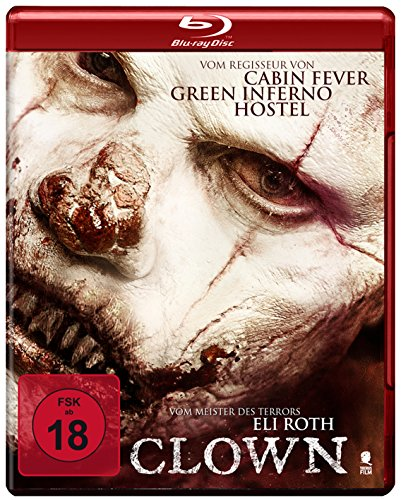 Clown (Eli Roth) (Uncut) [Blu-ray] (Billige Clown Maske)