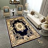 HIUGHJ Tapis Europe Classic Palace Carpets pour Le Salon Home Carpettes pour la Chambre à Coucher Table Basse Tapis de Sol Étude/Soft Wilton Rug and Carpet