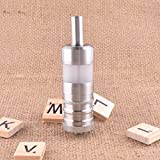 ShenRay FEV4 Style 5ml RTA Rebuildable Tank Atomizer Silver (ship from Germany)