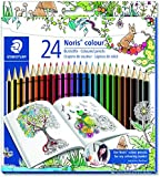 Staedtler 185 C24JB Noris Colour Colouring Pencils, Exclusive Johanna Basford Edition - Assorted, Pack of 24