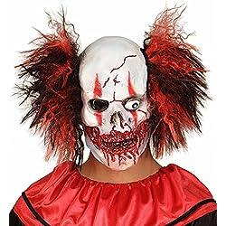 Máscara de payaso sanguinario