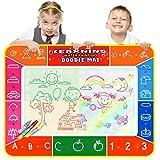 Best Créativité pour les enfants de 1 an Livres - Color You 100*70cm Doodle Magic Tapis De Dessins Review