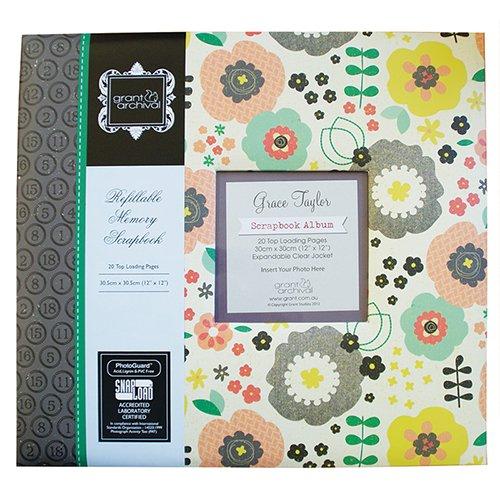 grace-taylor-flowers-12x12-post-bound-scrapbooking-album-gs2650