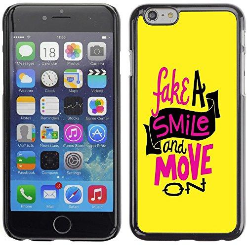 Graphic4You Life Teaches Us To Make Good Use of Time... Zitat Design Harte Hülle Case Tasche Schutzhülle für Apple iPhone 6 Plus / 6S Plus Design #1