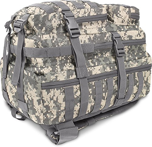 US Assault Pack Large, Rucksack, 50 Liter AT Digital