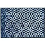 Alfombra diseño geométrico color azul – Alfombra Sitap Dibujo Moderno Genova 38251 – 8585 – 52