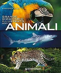 Idea Regalo - Grande dizionario illustrato degli animali
