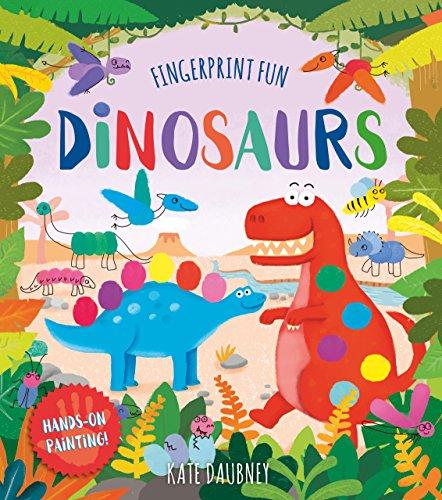 Fingerprint Fun: Dinosaurs por Kate Daubney