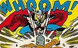 Preis am Stiel ® Breakfastboard - Thor Comic