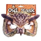 Realistisch Gesicht-maske Buchwoche Tier Zoo Dschungel Wald Creature Karneval Gesichtsmaske für Erwachsene und Kinder - Owl