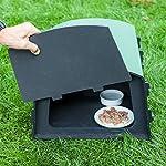 nestbox co eco hedgehog feeding station Nestbox Co Eco Hedgehog Feeding Station 61w 2BRDhSlVL