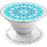 PopSockets PopGrip - [Nicht Austauschbarer] Ausziehbarer Sockel und Griff für Smartphones and Tablets - Blue Ice Star