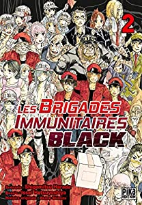 Les Brigades Immunitaires Black Edition simple Tome 2
