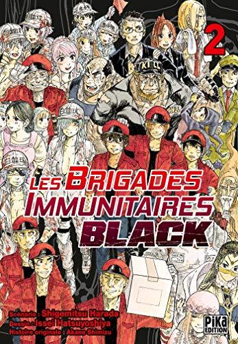 Les Brigades Immunitaires Black Edition simple Tome 2