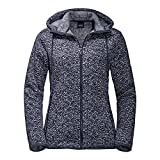Jack Wolfskin Belleville Jacket Women Midnight Blue All Over Größe S 2018 Midlayer