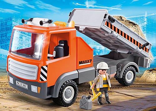 PLAYMOBIL 6861 – Baustellen-LKW, Spielwerkzeug - 2
