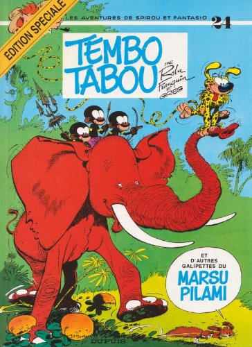 Spirou et Fantasio, tome 24 : Tembo tabou par (Broché - Jul 30, 2002)