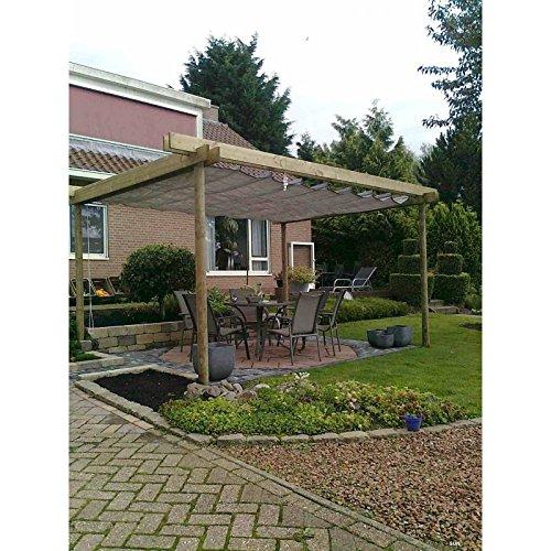 Sunfighters Sonnenschutz Garten Balkon und Terrasse Wavesail HDPE Atmungsaktiv Schattenspender 2,9x4...