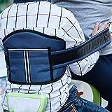 Kinder Kinder Motorrad Sicherheitsgürtel schützen Klettergurte Elektrofahrzeug Safe Strap Carrier Sicherheitsgurt, Blue