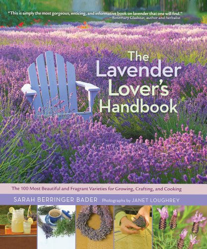 Lavender Lovers Handbook: the 100 Most Beautiful and Fragrant Varieties for Growing, Crafting, and Cooking por Sarah Berringer Bader