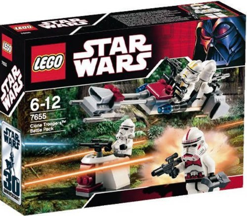 LEGO Star Wars 7655 - Clone Troopers Battle Pack - Spielzeug Wars Clone Star Lego