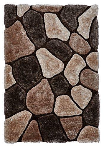 Shag Teppich Acryl (Think Rugs Teppich, Acryl und Polyester, Mehrfarbig, 120 x 170 cm)