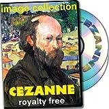 Cezanne, más de 100 de alta resolución de imágenes digitales, libres de derechos de DVD Biblioteca