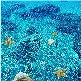 LWCX Bodenbeläge 3D Wallpaper stereoskopische Sea Turtle Dolphin Fußboden Pvc Selbstklebend Wandbild Papel De Parede 3D250X175CM