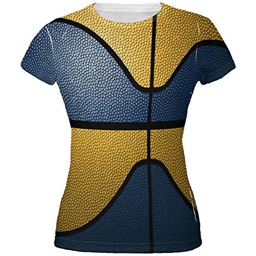 Old Glory Championship Basketball Navy & Gold Alle über Junioren T-Shirt Multi MD (Old Navy Damen-t-shirt)