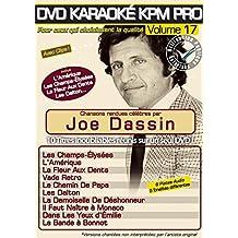 DVD Karaoké KPM Pro Vol.17 ''Joe Dassin''