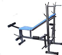 Generic 8 in 1 Steel Multipurpose Adjustable Exercise Bench