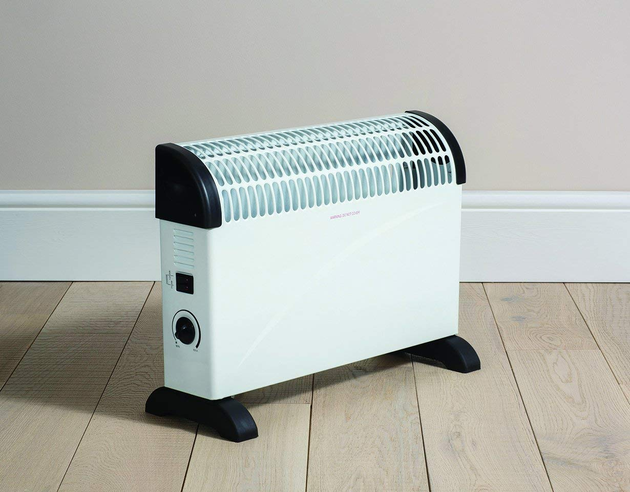 61w 4EfMDaL - Daewoo Free Standing Bedroom/Kitchen 2000W Convector Heater with 3 Heat Settings, Safety Cut-Out Function with…