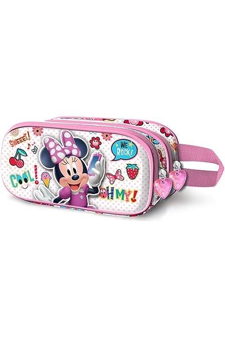 Minnie Mouse Yummy-Estuche Portatodo 3D Doble: Amazon.es: Equipaje