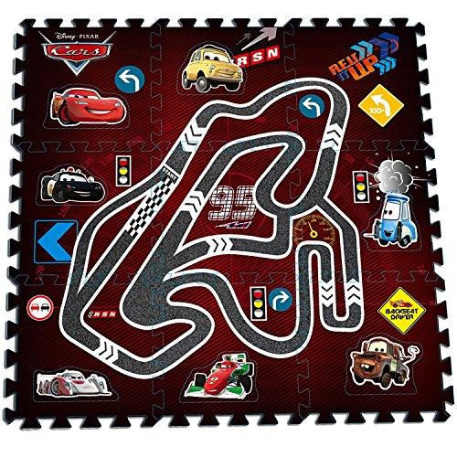 Disney Spielmatte Fußboden EVA Schaum Puzzle Spielboden Minnie Mouse, Cars, Ausführung:Cars