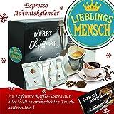 Lieblingsmensch | Advent Kalender Espresso | Kalender Advent Frauen Kalender Advent Männer Kalender Advent Kaffeebohnen Adventskalender Espresso Adventskalender Espresso