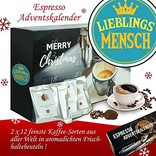 Lieblingsmensch | Advent Kalender Espresso | Kalender Advent Frauen Kalender Advent Männer Kalender...