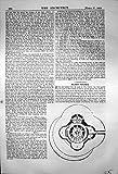 Stampi l'Ingresso 1869 delle Torri della Circolare della Difesa delle Torri di Pianificazione delle Camere di Blocco