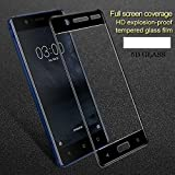 HIMTAJ Premium 5D Tempered Glass Screen Protector - 9H FULL GLUE Full HD, Shatterproof, Anti Scratch Screen Guard For Nokia 8