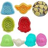 Hpamba Formine Biscotti Stampini Fondant Cookie Cutters Stantuffi Formine per Biscotti di Forma Geometrica Mini Tagliabiscott