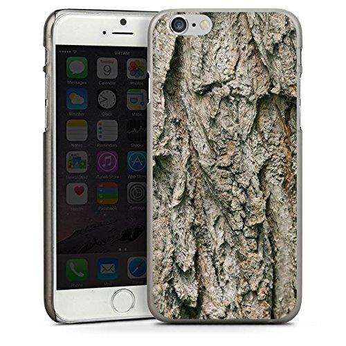 Apple iPhone 5 Housse étui coque protection Arbre Écorce Écorce CasDur anthracite clair