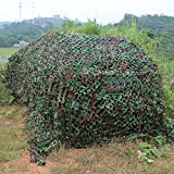 icase4u 2m x 3m Oxford tela Red de camuflaje/cubierta de camuflaje para para la caza Camping Ocultar Ejército