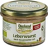 Ökoland Bio Leberwurst nach Hausmacher Art Gourmet-Qualität (2 x 160 gr)