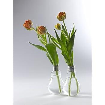 Edison, Vaso A Forma Di Lampadina   H 16 Cm