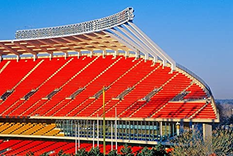 Panoramic Images – Arrowhead Stadium home of the Kansas City Chiefs Kansas City MO Kunstdruck (60,96 x 91,44 cm)