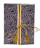 #8: DI-KRAFT Handmade Printed 120 GSM A5 Size Multicolor Paper Diary With Bamboo Cover Lock Design